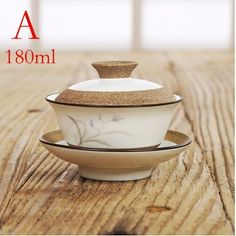 180ml Chinese Gaiwan Teapot Ceramic Porcelain Tea Cups And Saucers Tea Set tools Tea Set gw3