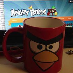 Angry birds ceramic coffee mug