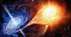 Observan cómo una estrella escapa de un agujero negro