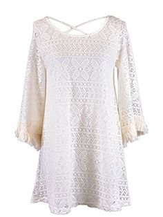 Audrey 3+1 Bohemian Lovers Floral Crochet Lace Fringed Bell Sleeves Dress Anna-Kaci http://www.amazon.com/dp/B00L5UGOM2/ref=cm_sw_r_pi_dp_nGQYtb1X75VT07AY