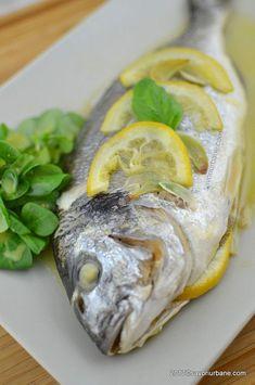 cel mai bun peste la cuptor reteta dietetica Romanian Food, Romanian Recipes, Tasty, Yummy Food, Cooking Recipes, Healthy Recipes, Pastry Cake, Fish And Seafood, Fresh Rolls