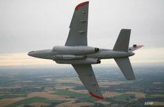 Belgian Air Force Dassault Dornier Alphajet trainer.