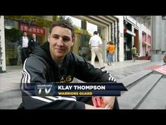 Klay Thompson loves his toys 10.16.13 | Warriors on Streets of Shanghai