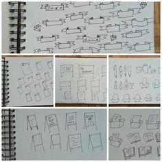 Basic Elemente für Sketchnotes