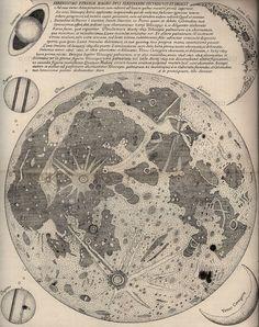 Eustachio Divini, Map of the Moon