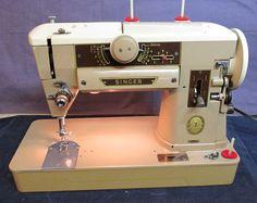 Machines - Sewing Machine Magic Singer 401A.