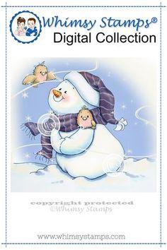 N'ice Friends 2 - digital stamp