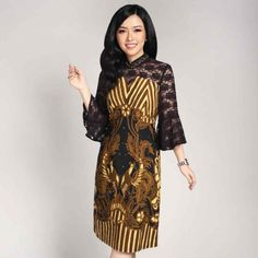 123 new ideas dress batik – page 32 Gaun Dress, Dress Brukat, Dress Pesta, Model Dress Batik, Batik Dress, Dress Batik Kombinasi, Batik Kebaya, Blouse Batik, Dress Illustration