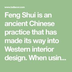 Feng Shui is an ancient Chinese practice that has made its way into Western interior design. When using Feng Shui, the goal is to design a home that aligns with who you are as a person. It is also a way to ensure a space allows…