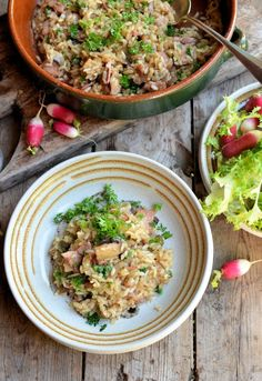 Healthy and Delicious Risotto Recipes Easy Baked Bacon and Mushroom Risotto Recipe