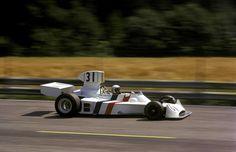 Ian Scheckter Austrian GP 1974 Ford, Formula 1 Car, F1 Drivers, First Car, Car And Driver, Motor, Race Cars, South Africa, Cool Photos