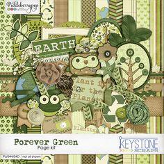 Forever Green by Keystone Scraps
