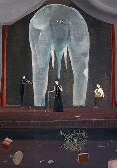 artist painter painting yosuke yamaguchi//Watercolor paintings by Yosuke Yamaguchi. Japan Illustration, Elephant Illustration, Yamaguchi, Photography Illustration, Art Photography, Elephant Art, Painting & Drawing, Watercolor Paintings, Community Art