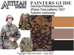 ww2 german vehicle camouflage patterns - Cerca con Google