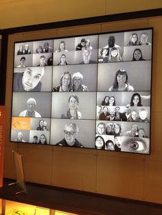 At gates foundation video wall