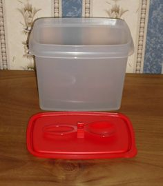 Tupperware Food Storage Container Space Saver 850ml eBay food