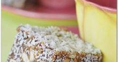 DADELBLOKKIES ~ Altyd 'n wenner! 36 blokkies 250 g (½ blok) botter 500 g x 250 g-pakkies) dadels, fyn gekap . 1 eier 125 ml. Yummy Treats, Yummy Food, Milk Tart, Caramel Recipes, Almond Cakes, Banana Bread, Cake Recipes, Easy Meals, Cooking Recipes
