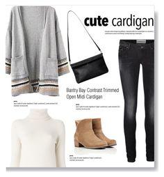 """My Favorite Cardigan"" by burcuciz ❤ liked on Polyvore featuring Monki, Vero Moda, Chloé, UGG Australia and mycardi"