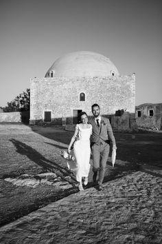 Yelena and Liam's 39 guest  Crete wedding. Photography by HannaMonika. Read more here.. @intimateweddings.com #realweddings #smallweddings