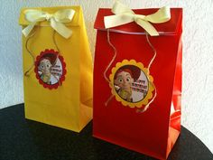 10ct jessie Buzz Woody loot bags party bags Toy by JayPeaCreations, $13.99