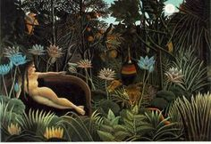 The Dream by Henri Rousseau - Canvas Print Wall Art - x Oil Painting Pictures, Pictures To Paint, Art Pictures, Oil Paintings, Photos, Canvas Art Prints, Painting Prints, Henri Rousseau Paintings, Cat Posters