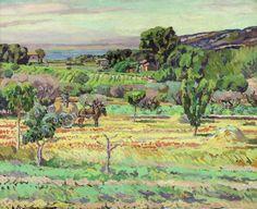 Provençal Landscape, Duncan Grant (1885–1978), Laing Art Gallery