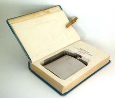 Hollow Book Safe - Ben Hur with Flask Cut-Out (flask included)