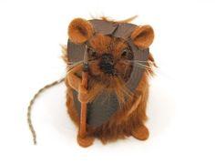 Star Wars Mice - Ewok  has Etsy page...very cute!