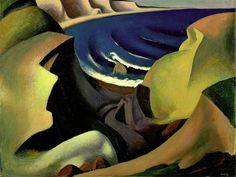 ART & ARTISTS: Thomas Hart Benton -The Cliffs