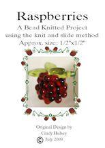 Beaded Raspberries Pattern by CCBeadwork at Bead-Patterns.com