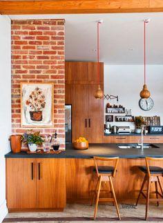 Modern kitchens Brick Inspiration