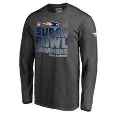 b72d86a8d Men s New England Patriots Pro Line by Fanatics Branded Charcoal Super Bowl  LI Champions Big  amp