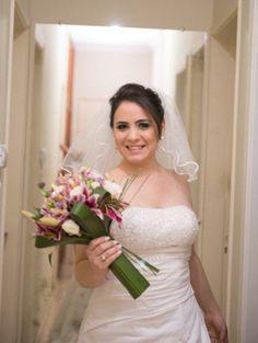 Fernanda Ramos veste Vestido de Noiva Bello&Bella Noivas
