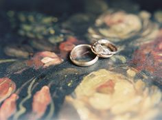 Vintage Art Deco Engagement Ring | Rylee Hitchner Photography | Light and Shadow - Still Life Inspired Fine Art Wedding Styling in Moody Winter Shades