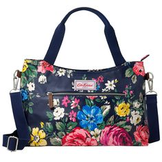 Hampstead Rose Handbag with Detachable Strap | Cath Kidston |