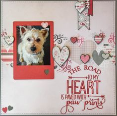 The Road To My Heart - Fancy Pants Designs - Love Note Collection  http://www.scrapbook.com/gallery/image/layout/5300713.html#RozvP2vTlAhFS6pb.99