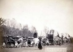 Going West in the 1800s | Old West: Wagon Trains West!