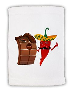 TooLoud Chocolate and Chili  No Text Micro Terry Sport Towel 11x18 >>> Visit the image link more details.