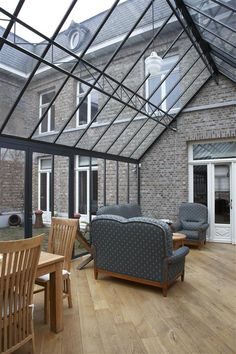 wintertuin in staal Wuustwezel - Veranda's, wintertuinen en orangeries Waver…