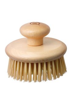 Slough off dead skin (ew) and rev up circulation with this easy-to-use body brush that won't slip out of your hands in the shower.     The Body Shop Round Body Brush, $12, available at Beauty.com.