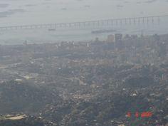 Ponte Rio-Niterói, vista do Cristo Redentor, RJ, Brasil