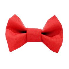 The Boss Is In -  Red Cat Bow Tie. $6.00, via Etsy.