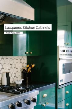 This glossy kitchen cabinet trend is strikingly beautiful with a modern edge. Check out these 20 gorgeous lacquered kitchen cabinets and decide whether you're going to go glossy or go home.