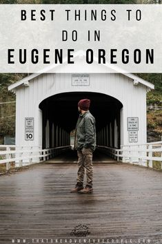 Ultimate Guide to Exploring Eugene Oregon. In this post we include all the best things to do places to eat at places to stay at and day trips to take. Save this pin and plan your adventure! One Adventure Couple oregon Oregon Camping, Oregon Road Trip, Oregon Trail, Oregon Ducks, Oregon Map, Living In Portland Oregon, Oregon Living, Travel Portland, Central Oregon