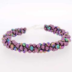 Kumihimo Bracelet - Pretty Rainbow  You must have a go at these bracelets, they are so easy to make and very pretty. They come with full instructions for you to use. I am sure all your friends will be asking you to make one, but don't tell them it only cost £4.99.