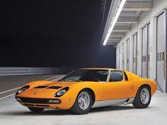1972 Lamborghini Miura, P400 SV