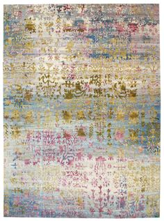 Breathtaking contemporary rug design, new in the Tissage Collection.  J38064 Metallica Reserve www.landryandarcari.com