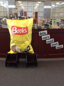 Want to catch your students' attentions? This display sure is doing that in our library currently. We wanted to display some of our great series that get overlooked sometimes so we used a …
