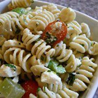 Pasta Salad and Fruit Salad by Jody Sheridan Milligan
