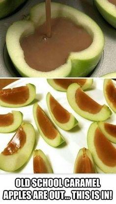 Inside Out Caramel Apple